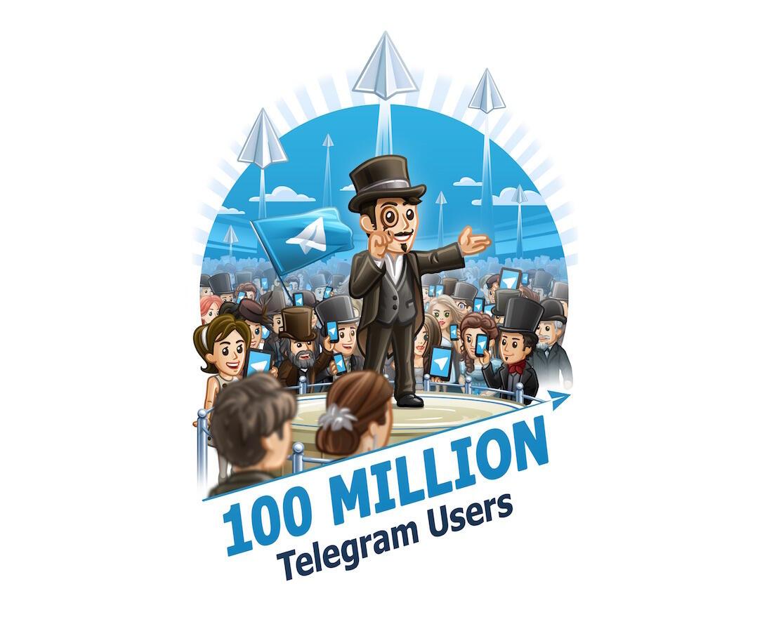Android iOS millionen Nachrichten Telegram Windows