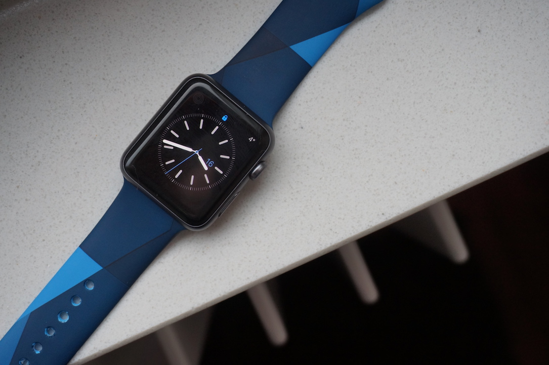 alternative Apple band Gewinnspiel iOS Sport watch
