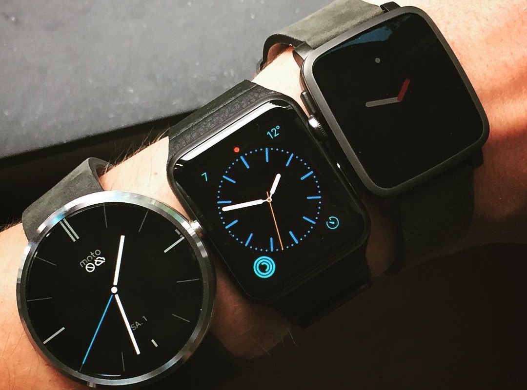 Android Apple fitbit idc iOS marktanteil watch Wearables