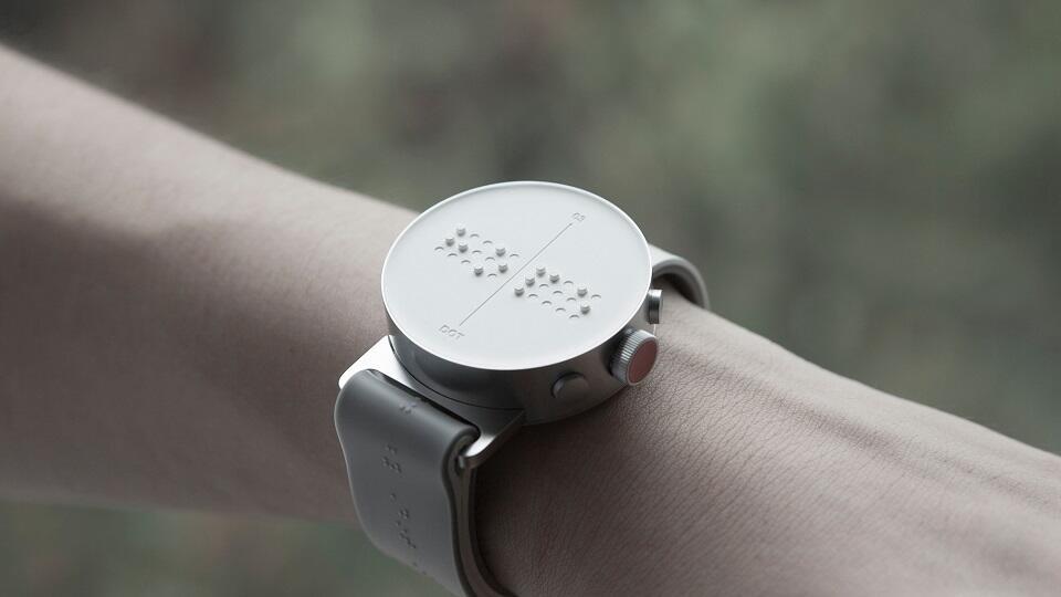 dot Schrift smartwatch