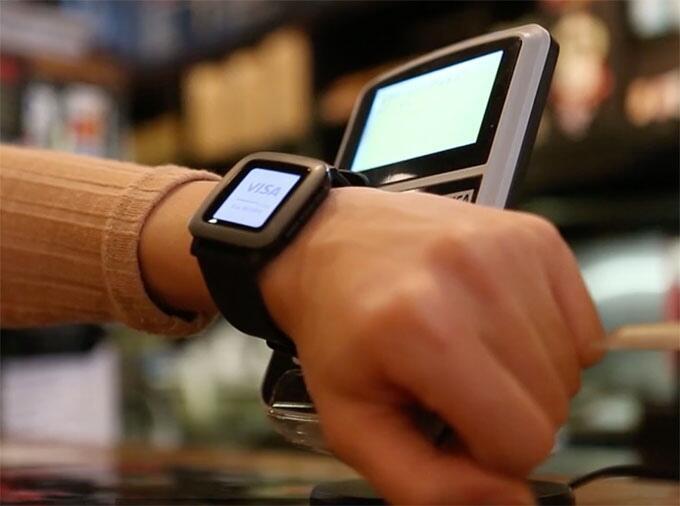 Android iOS kickstarter Pebble smartwatch time zahlen