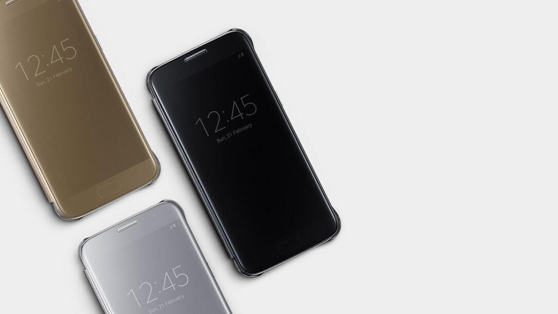 alcantara Android case galaxy hülle leder s8 Samsung