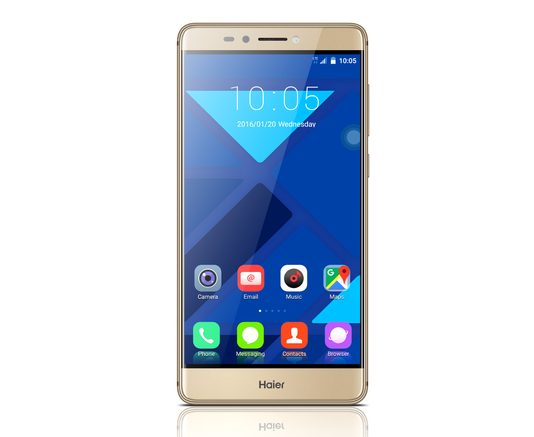 1 aff Android Haier MWC2016