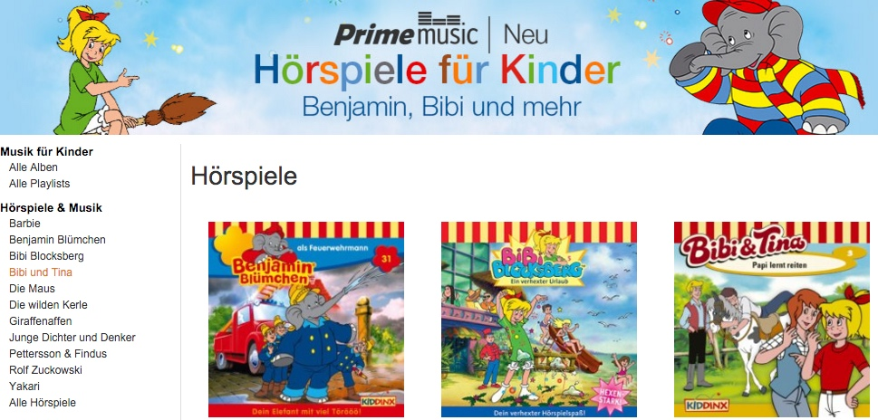 aff amazon hörbuch Musik prime