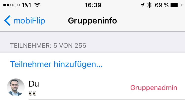 Android gruppe iOS whatsapp