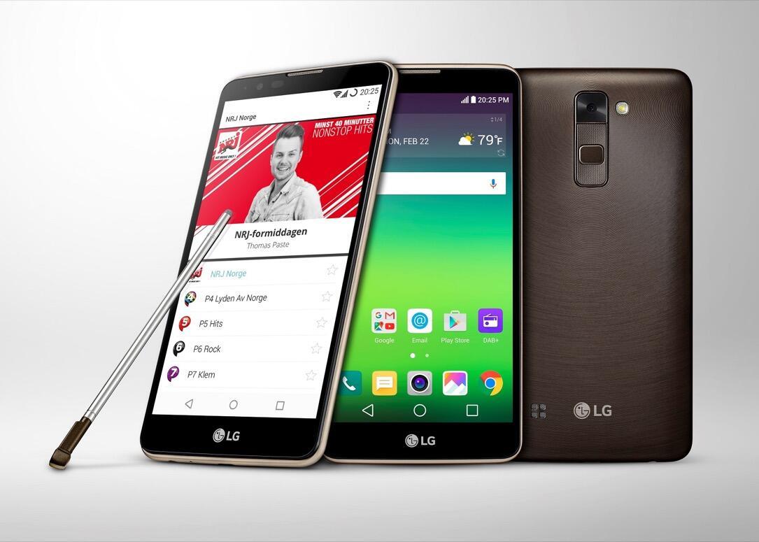 Android LG Radio Smartphone Stylus