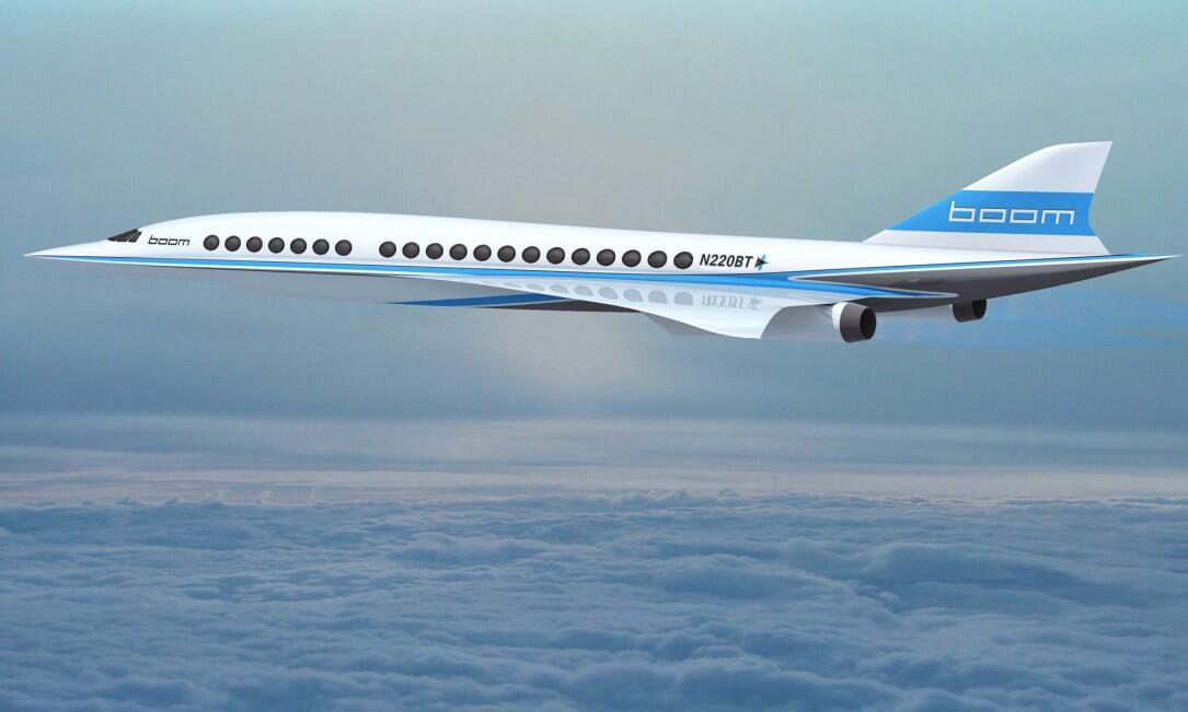 Aviation boom Concorde Flugzeug technologies überschall Virgin