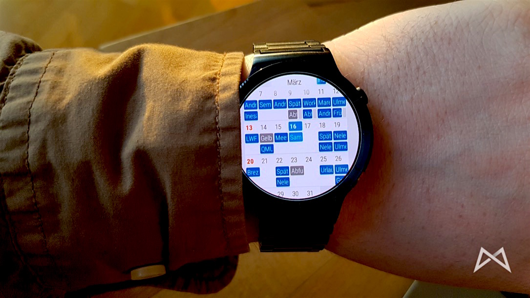 Android Kalender wear
