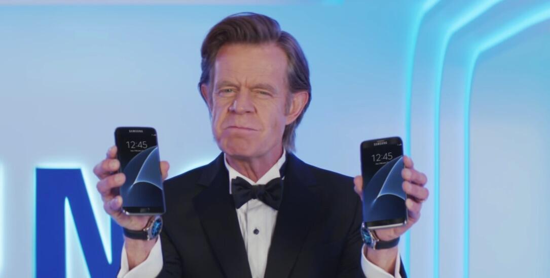 Android edge galaxy s7 Samsung werbung