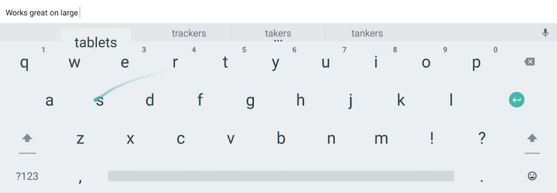 Android Google iOS iphone suche Tastatur