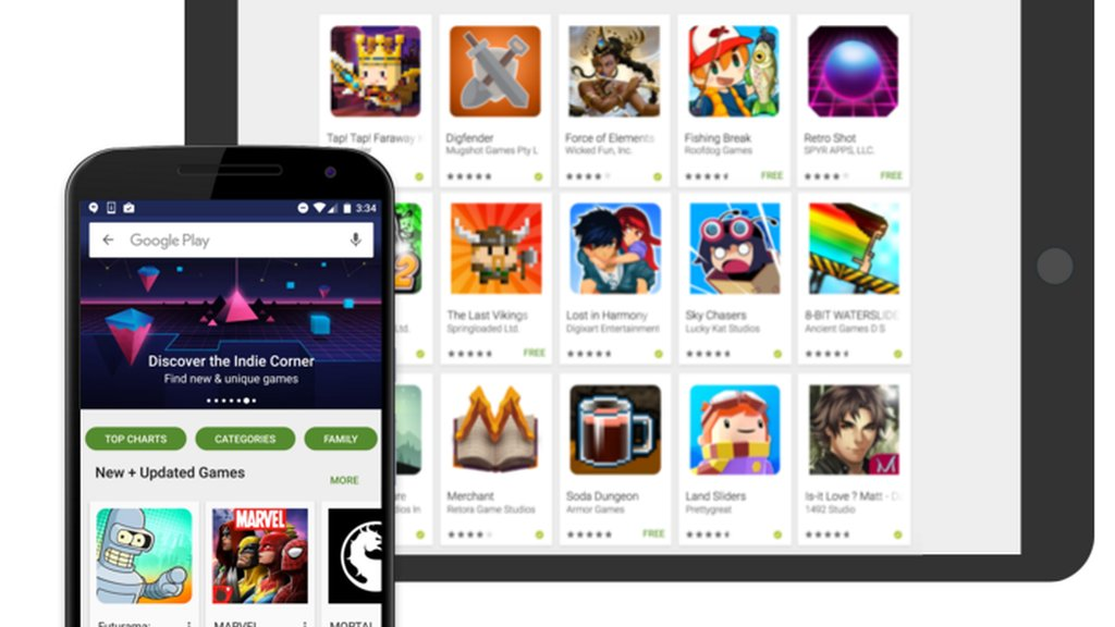 Android games Google play Spiele Store