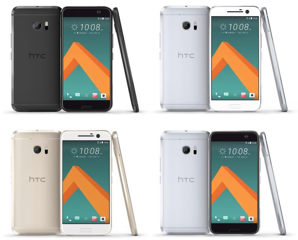 Android farben Flaggschiff HTC htc 10 One M10