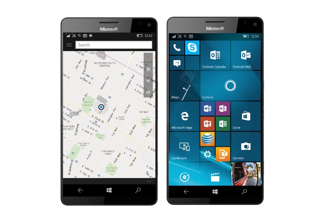 app here Maps phone Windows Windows 10
