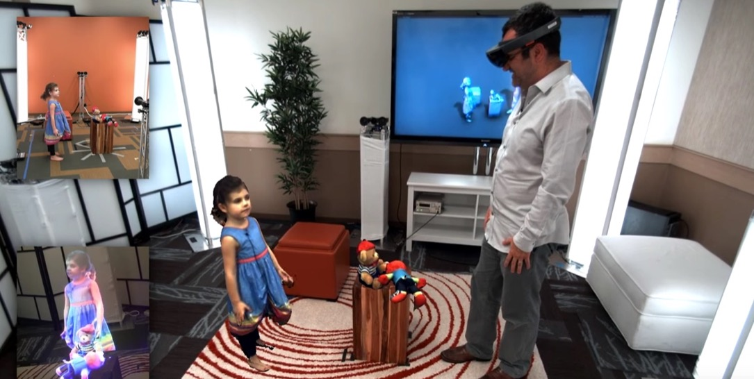 1 hololens microsoft Virtual Reality vr