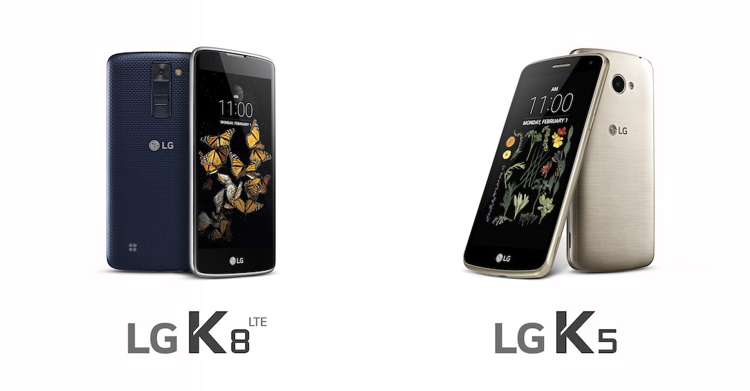 Android k5 k8 LG