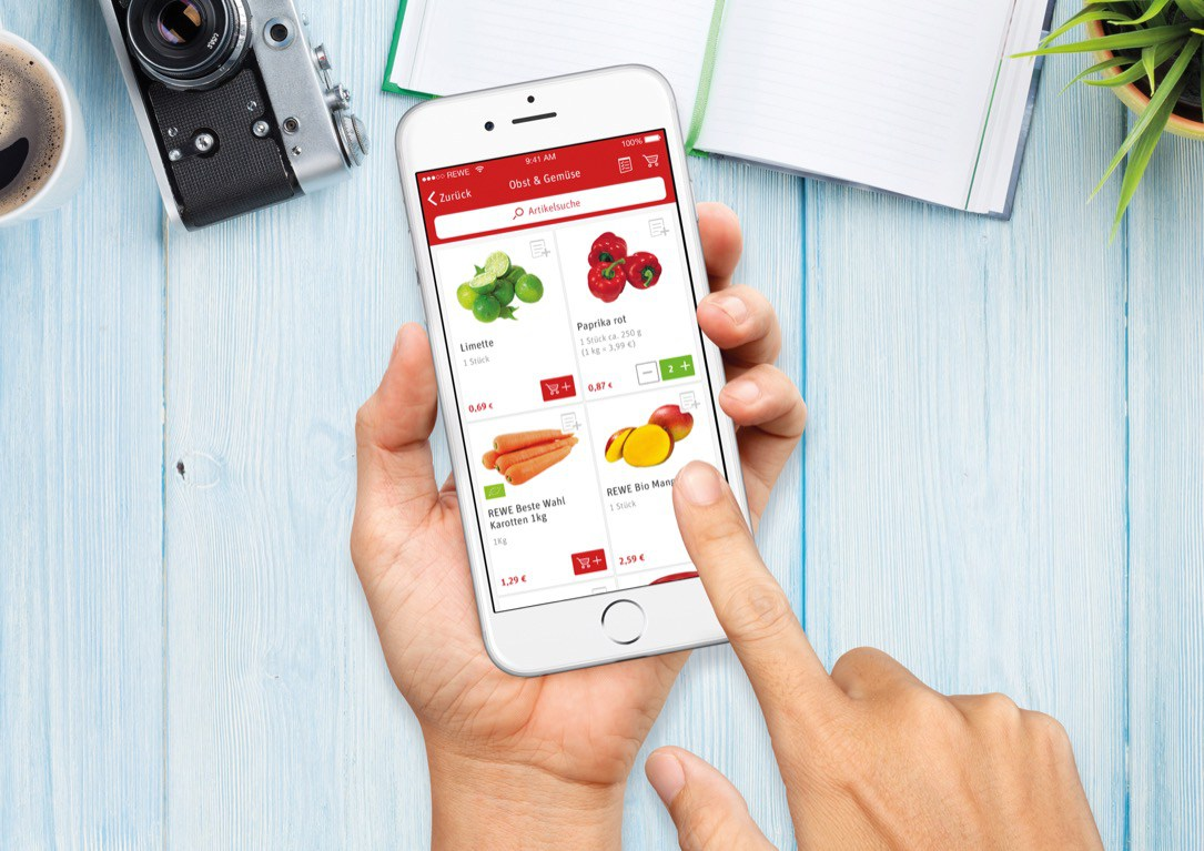 app rewe shopping