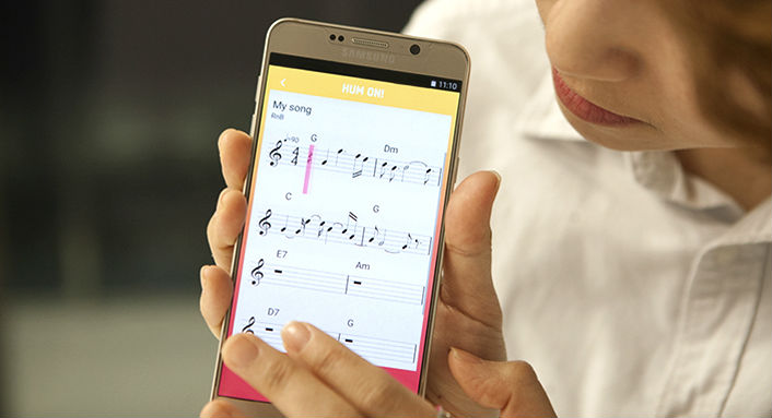 Android app Musik Samsung song