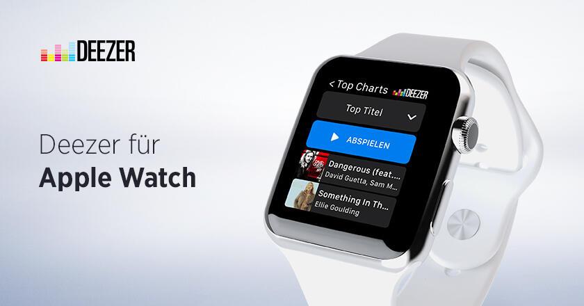 Apple deezer iOS music Musik watch