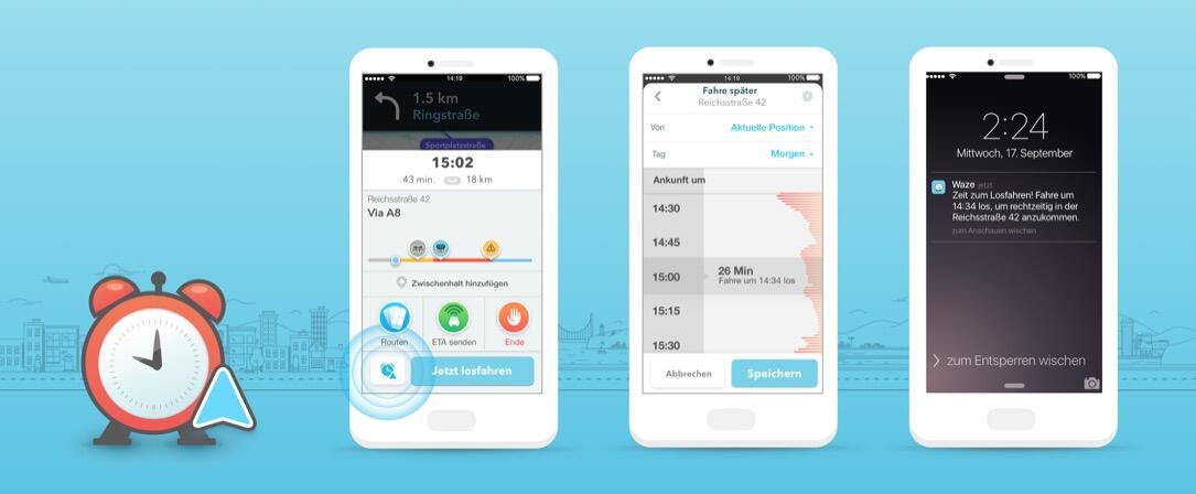 iOS navigation Update Waze