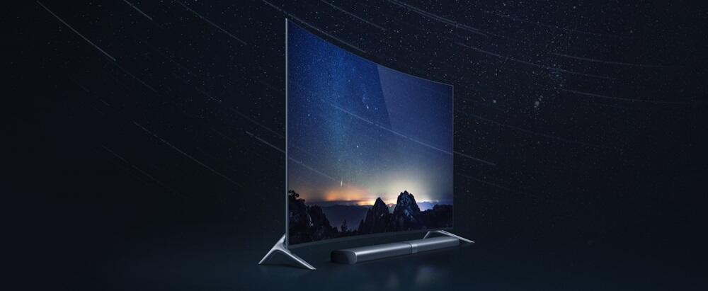 Curved TV xiaomi