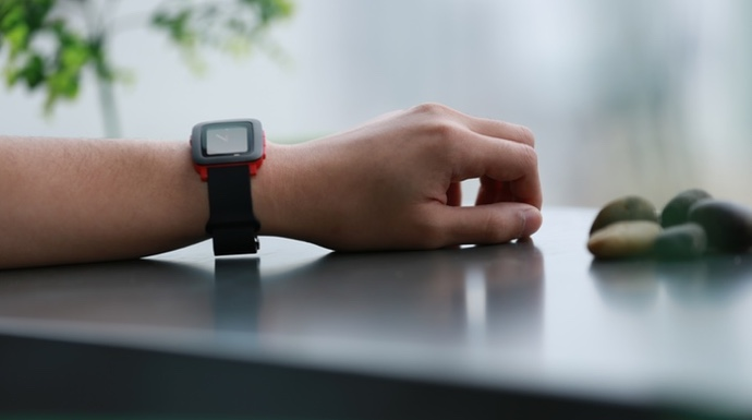 akku band kickstarter Pebble Pebble Time smartwatch time watch