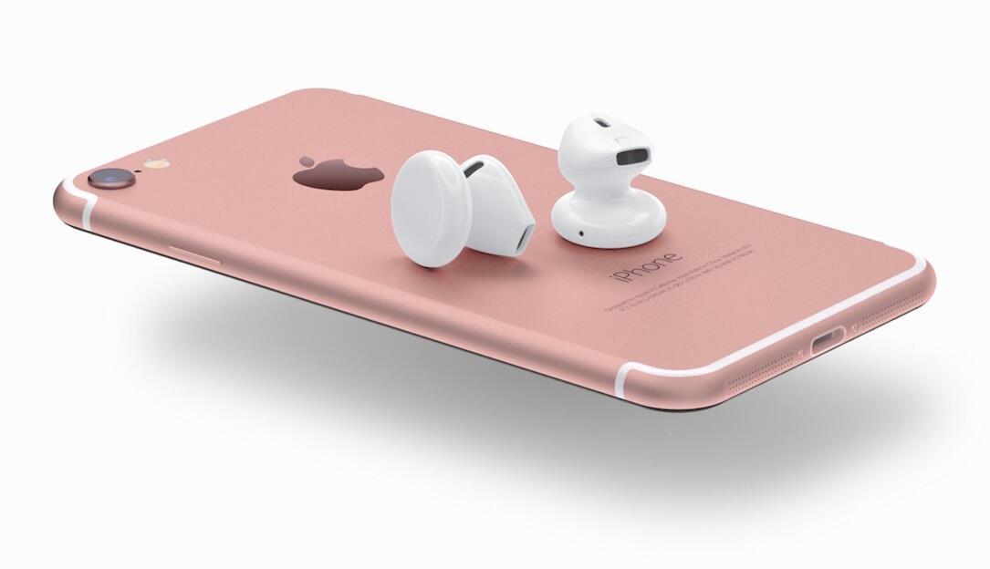 1 airpods Apple iOS iphone iphone 7 Konzept