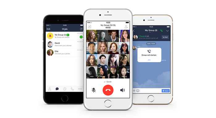 Android iOS line Messenger Update wire
