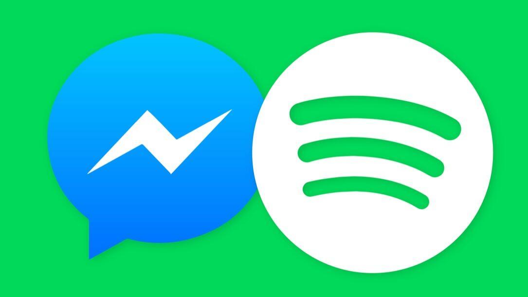 facebook Messenger music Musik social spotify