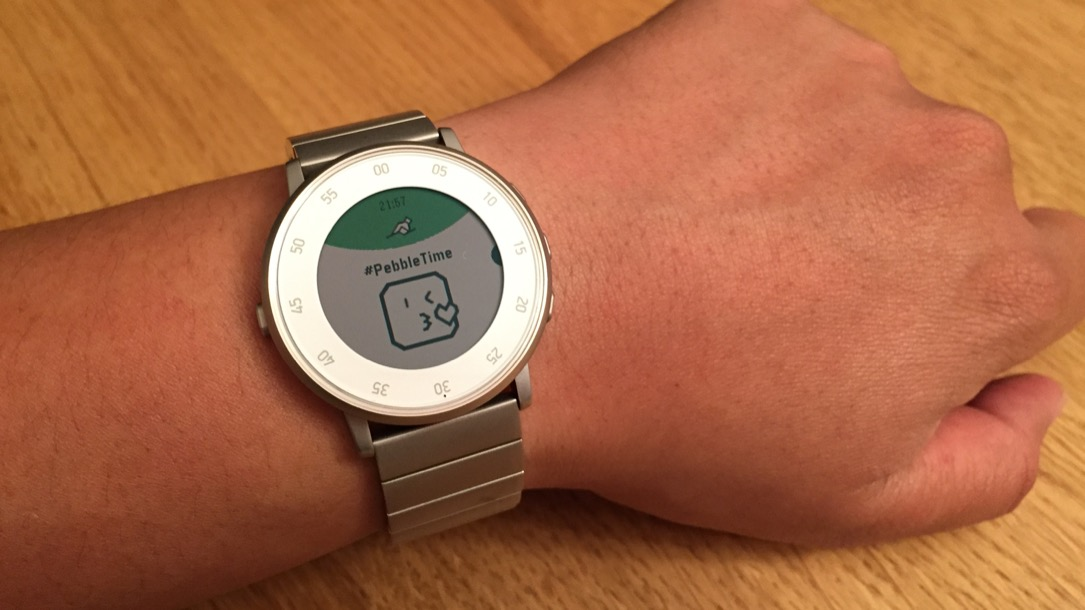 Android Firmware iOS Pebble smartwatch time Update