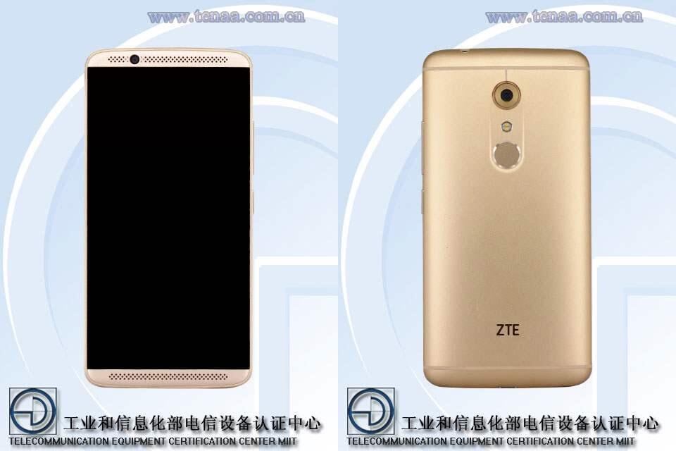Android TENAA ZTE ZTE Axon 2