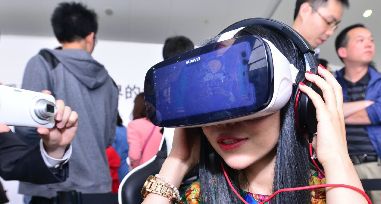 Android Huawei Virtual Reality VR Brille