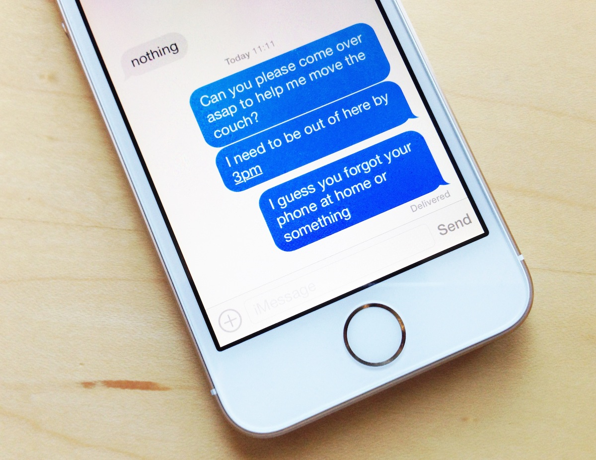 Apple imessage iOS Patent