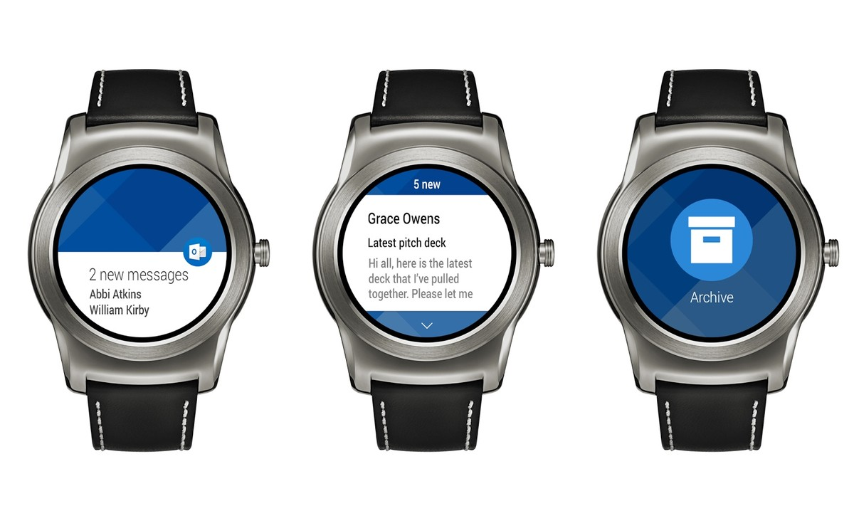 Android microsoft outlook wear