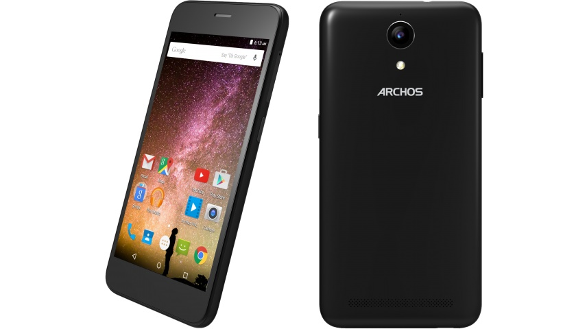 archos 50 power einsteiger smartphone mit mah akku. Black Bedroom Furniture Sets. Home Design Ideas