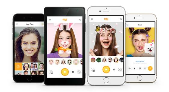 android ios Apps line selfie