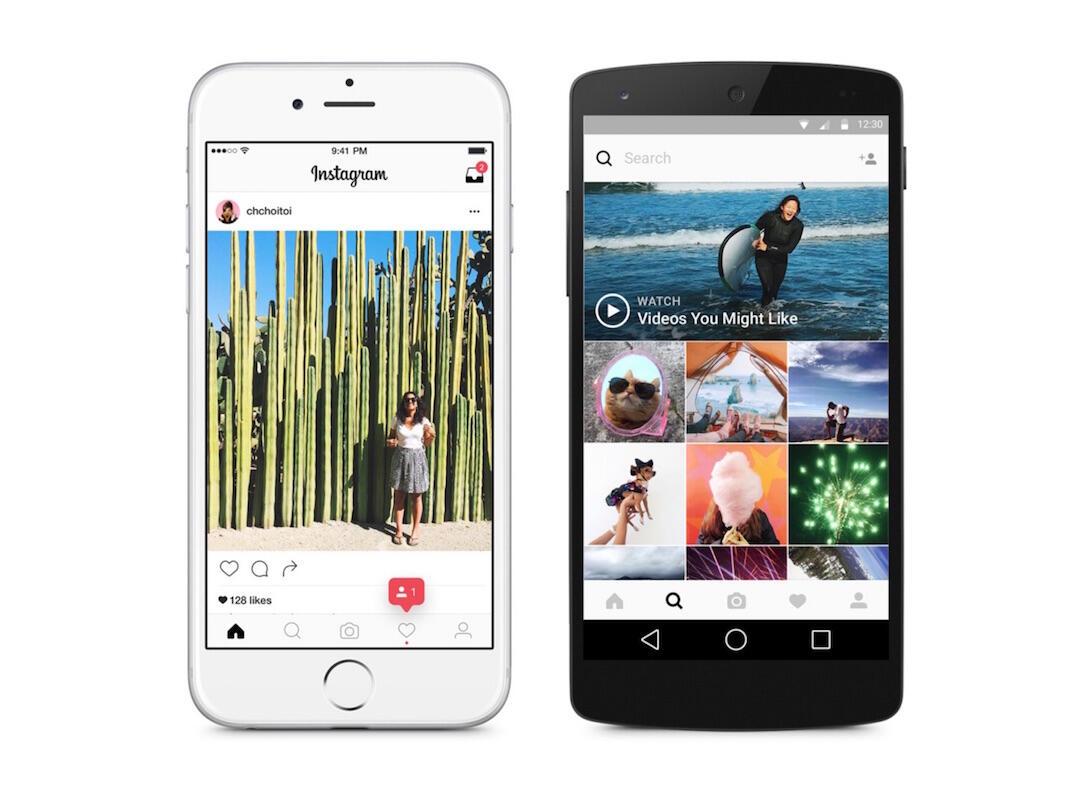 Android filter instagram iOS kommentare Windows
