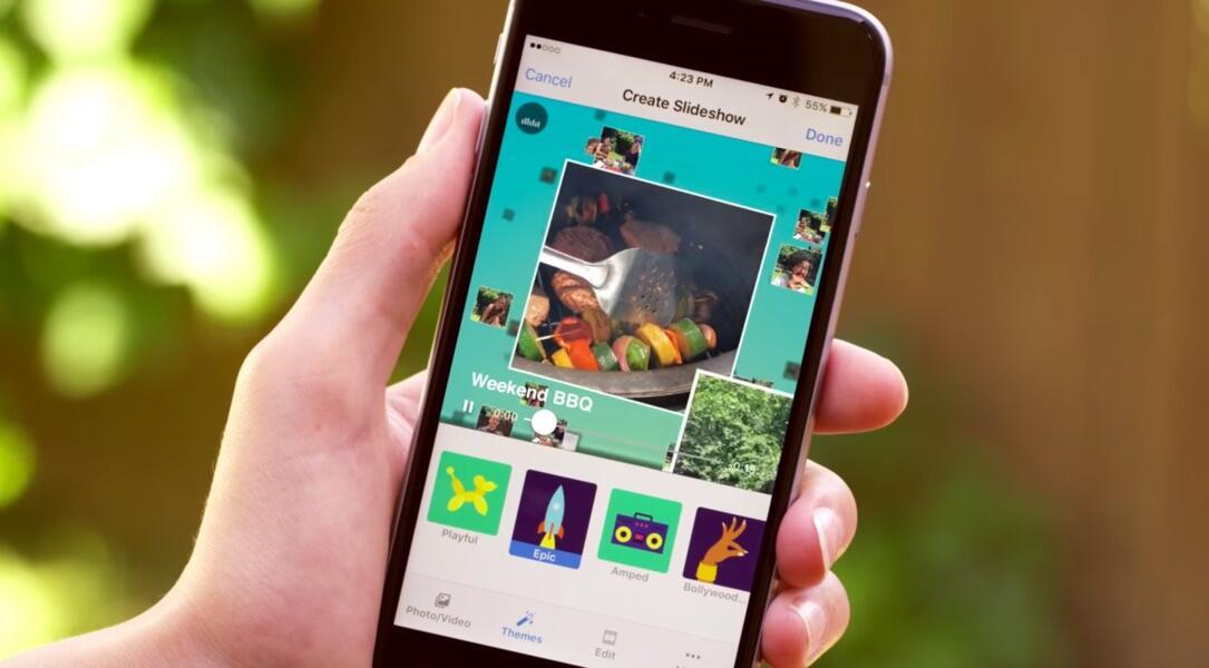 Android app facebook iOS videos