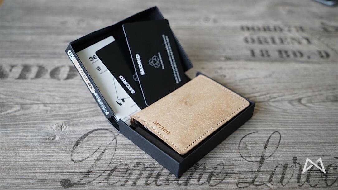1 aff Geldbörse Kartenetui pocket wallet