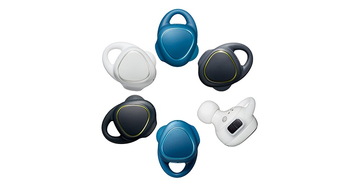 samsung pr sentiert bluetooth in ear kopfh rer gear iconx. Black Bedroom Furniture Sets. Home Design Ideas