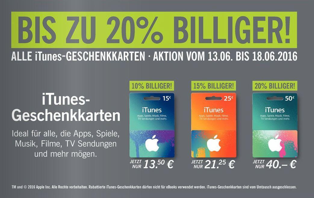 Apple deal iTunes Rabatt