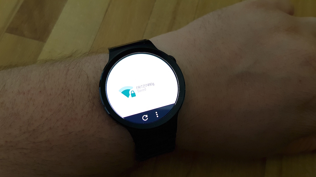 Android manager wear WiFi