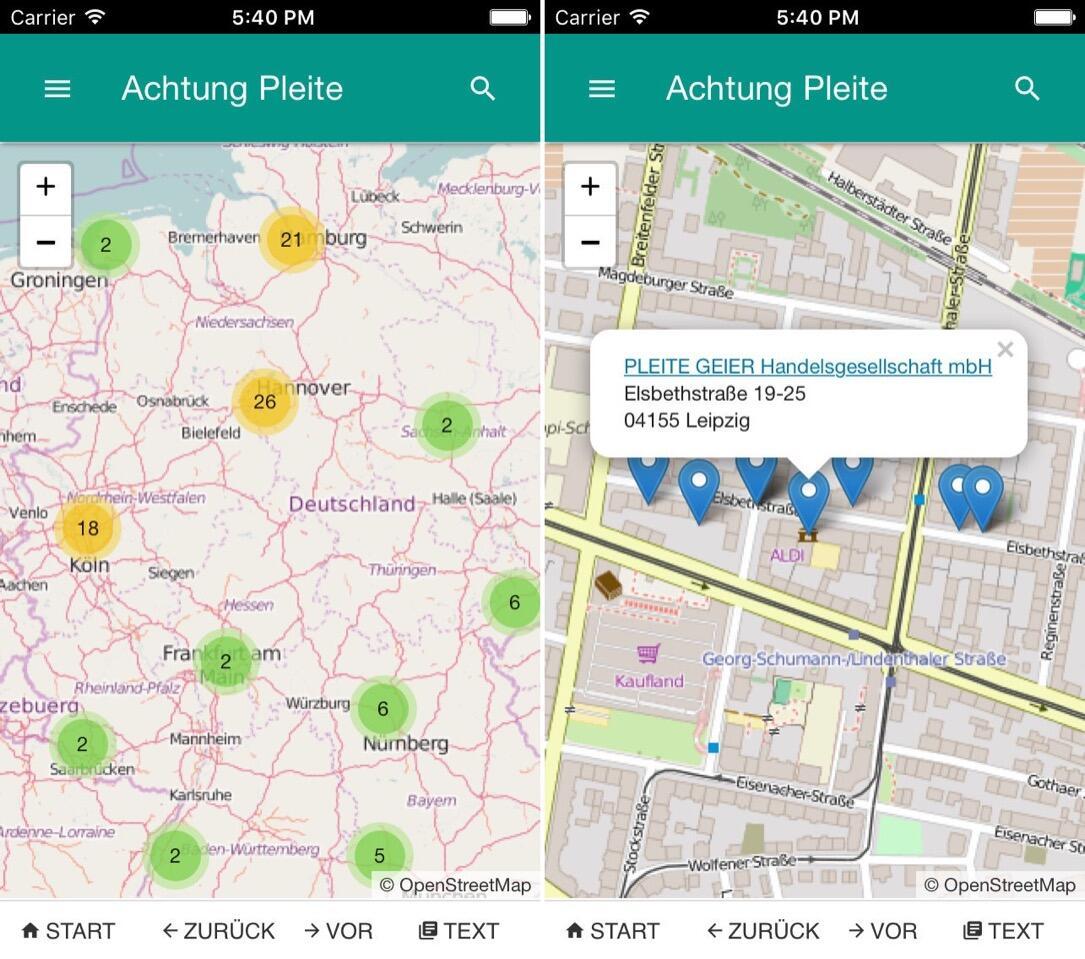 Android app Finanzen fintech iOS