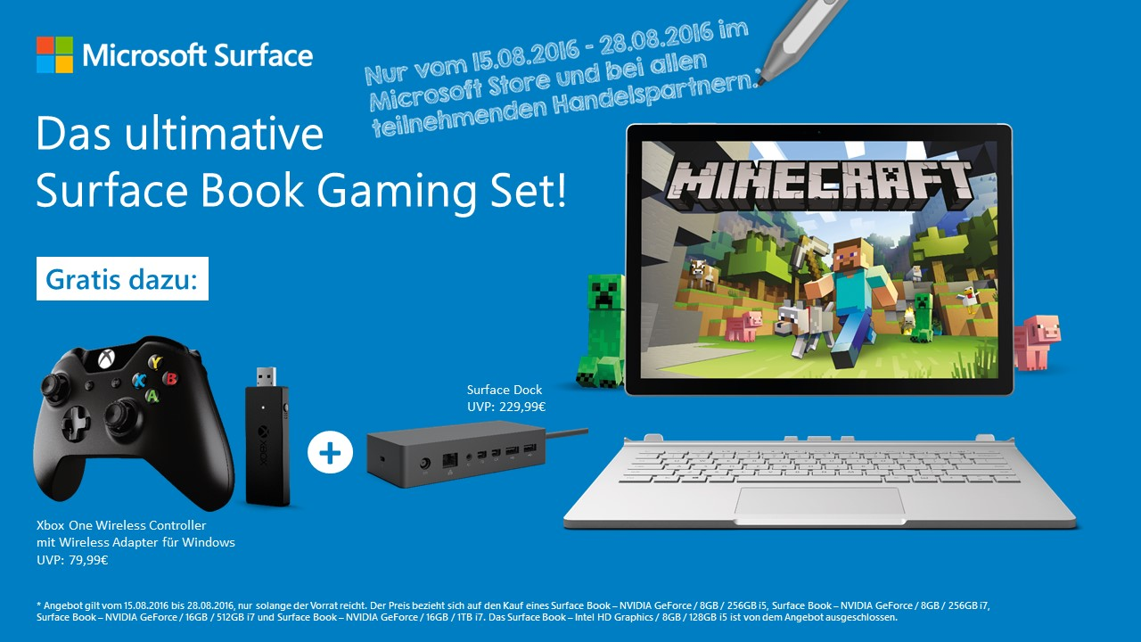 aff Bundle microsoft Microsoft Surface Book Windows