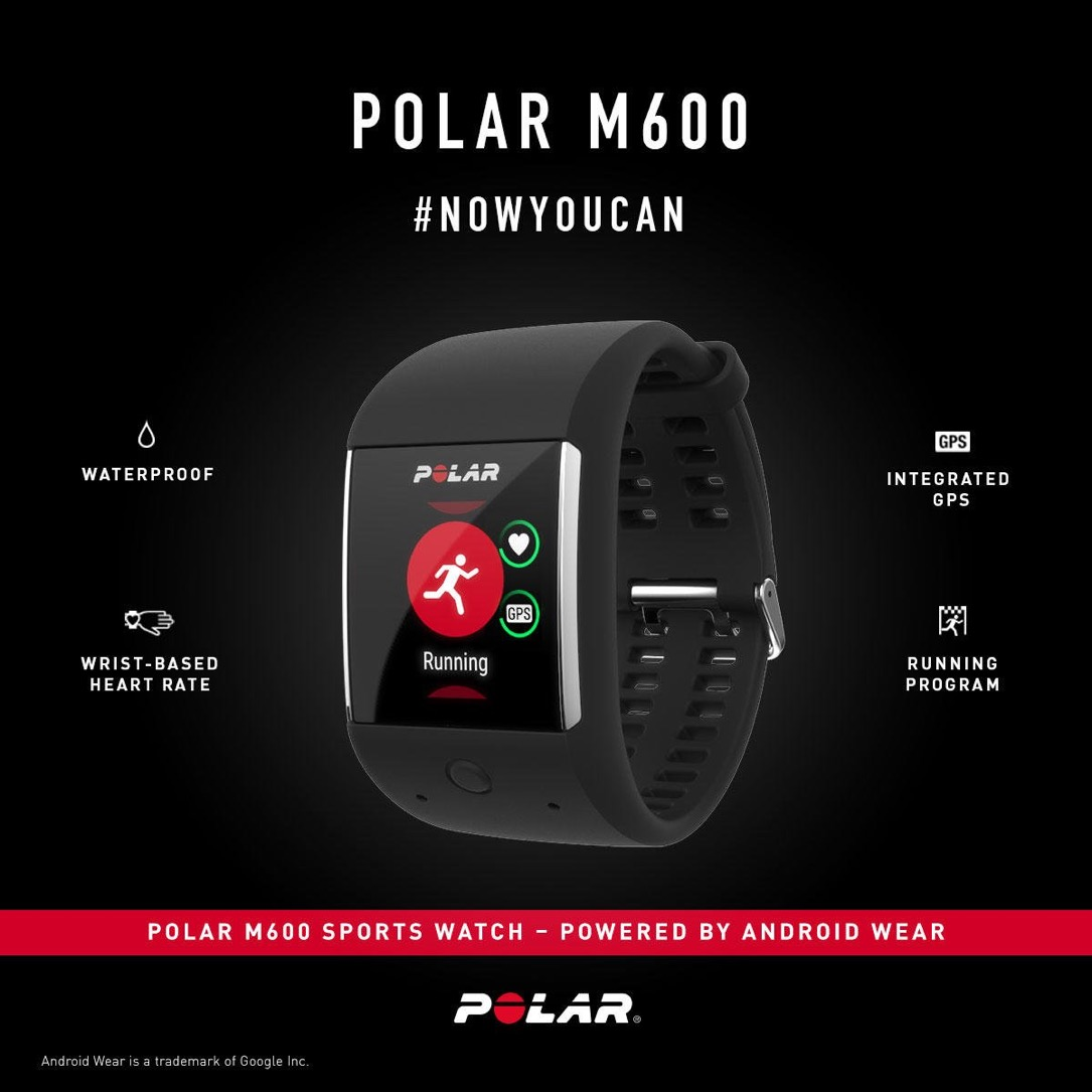 Android Android Wear fitness polar Sport Uhr