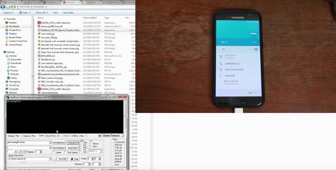 Android hack Samsung Sicherheit
