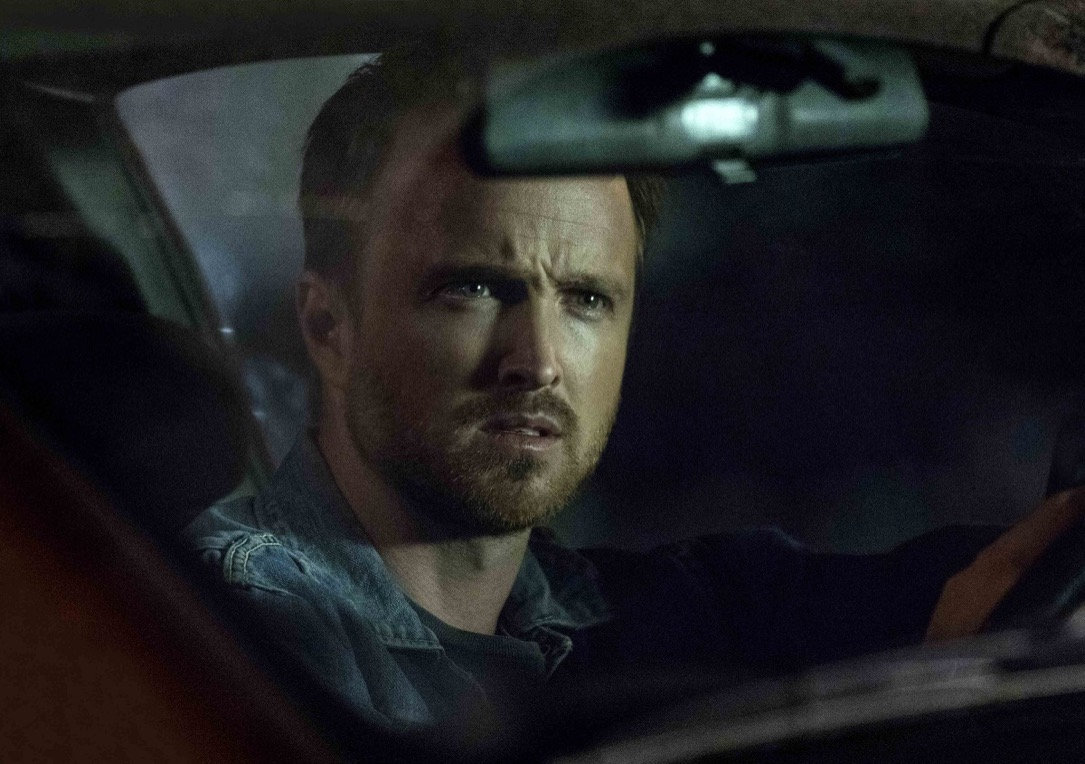 "THE PATH -- ""What The Fire Throws"" Episode 101 -- Pictured: Aaron Paul as Eddie Lane -- (Photo by: Greg Lewis/Universal Television"