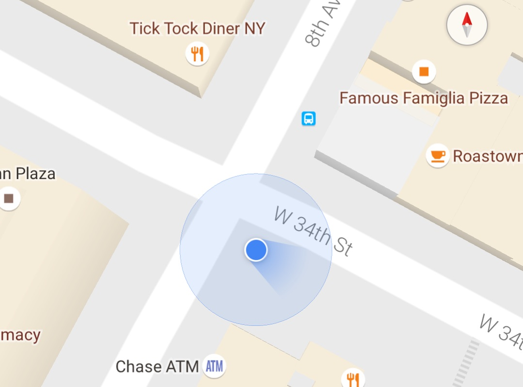 Android Google Maps parken
