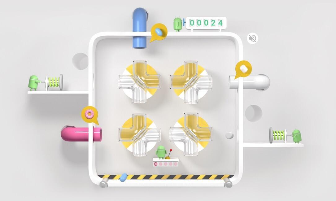 Android Spiel webseite