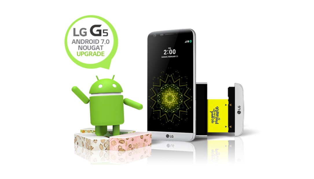 Android Android 7.0 deutschland download LG neu Nougat Update
