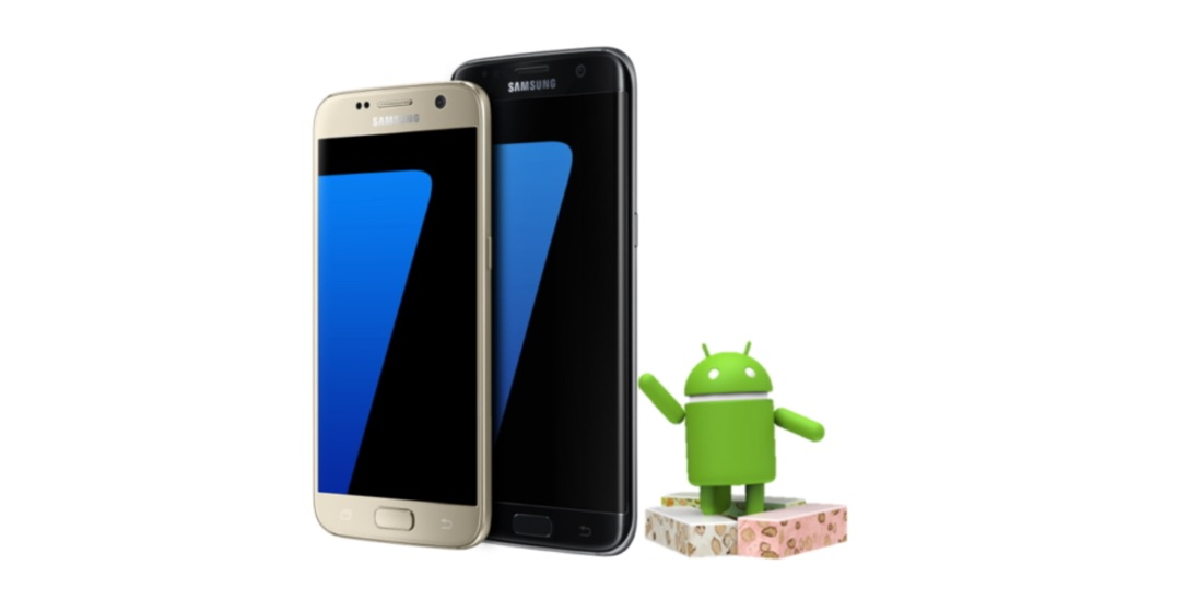 beta download edge galaxy Nougat s7 Samsung Update